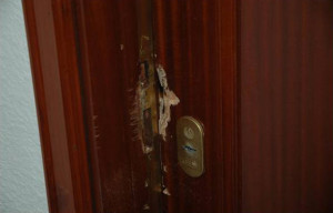 Robo, puerta forzada en San Juan de Alicante 24H